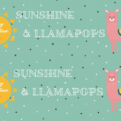 Sunshine And Lollipops Free Printable Llama Valentines