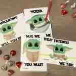 Best Printable DIY Baby Yoda Valentines