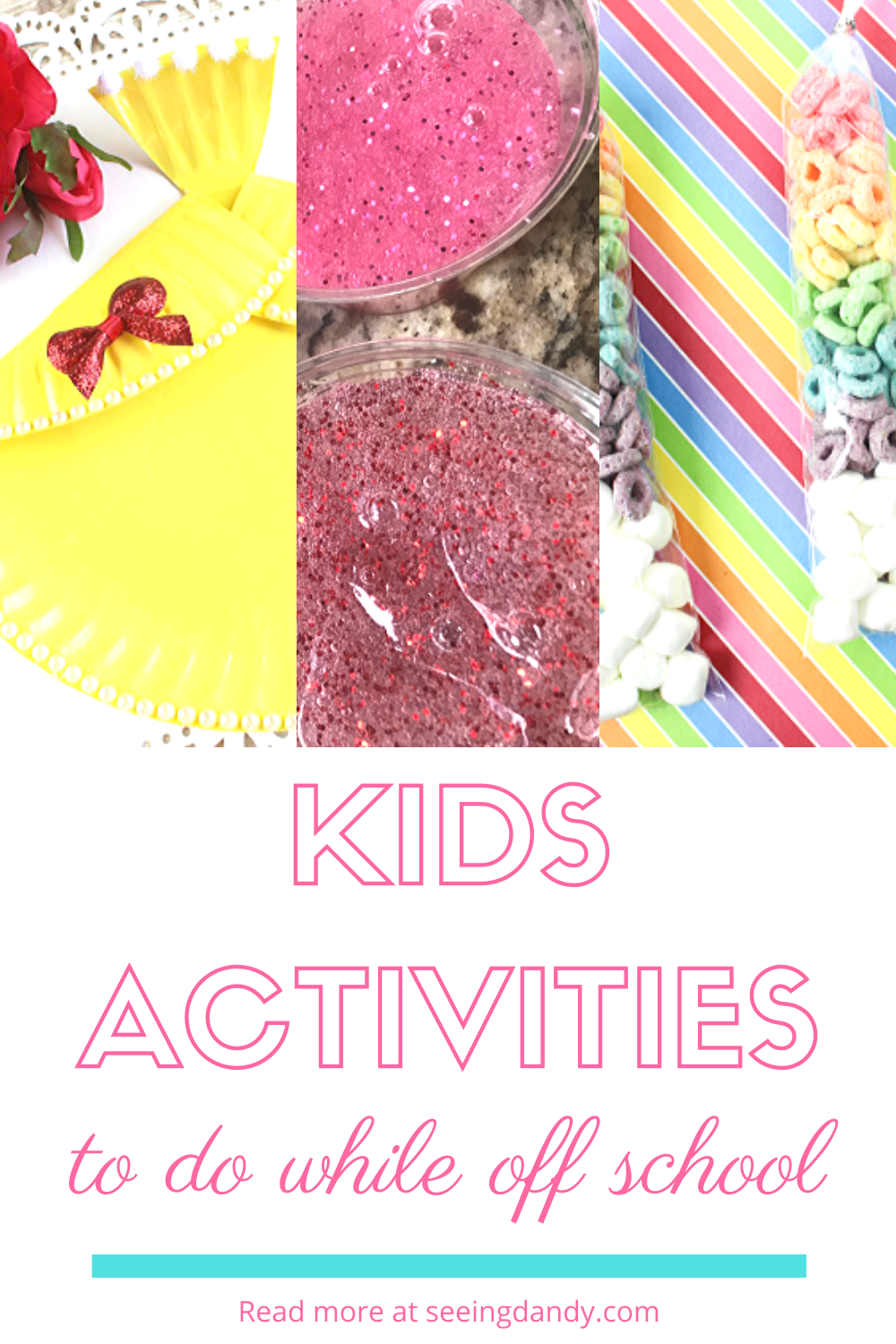 DIY creative kids activities to do while at home from school