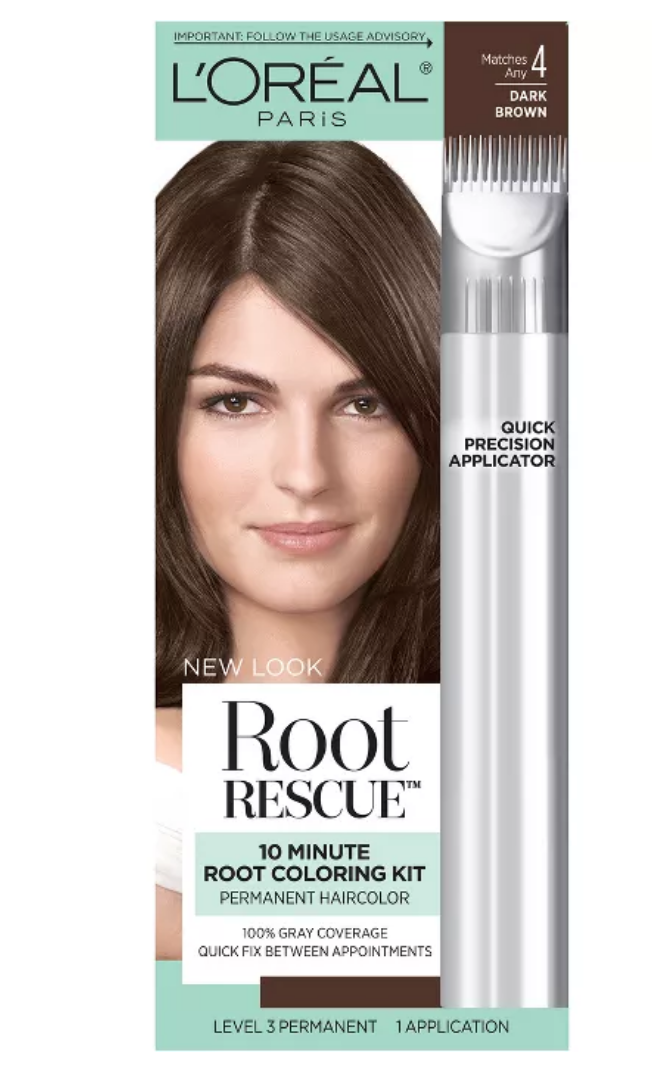 Loreal Paris root rescue quick precision applicator to cover gray roots