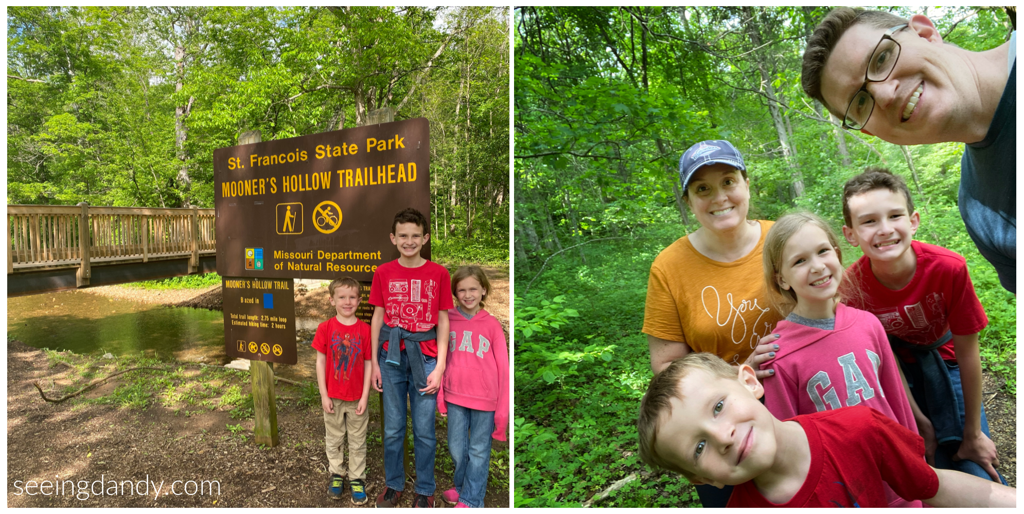 Mooner's Hallow trailhead