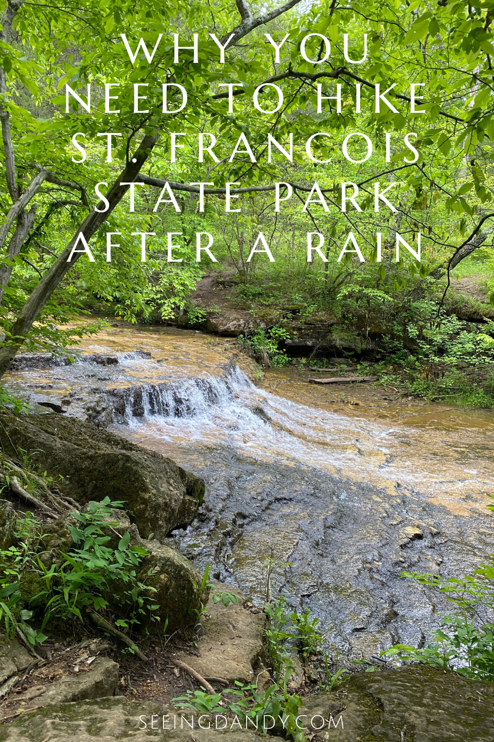 Missouri hiking trails St. Francois State Park