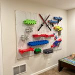 The DIY Nerf Gun Storage Wall You Need At Your House