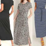 Must Have Tie Belt Maxi Dress With Pockets