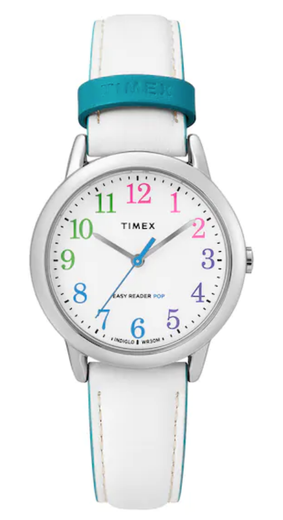 Timex white watch band