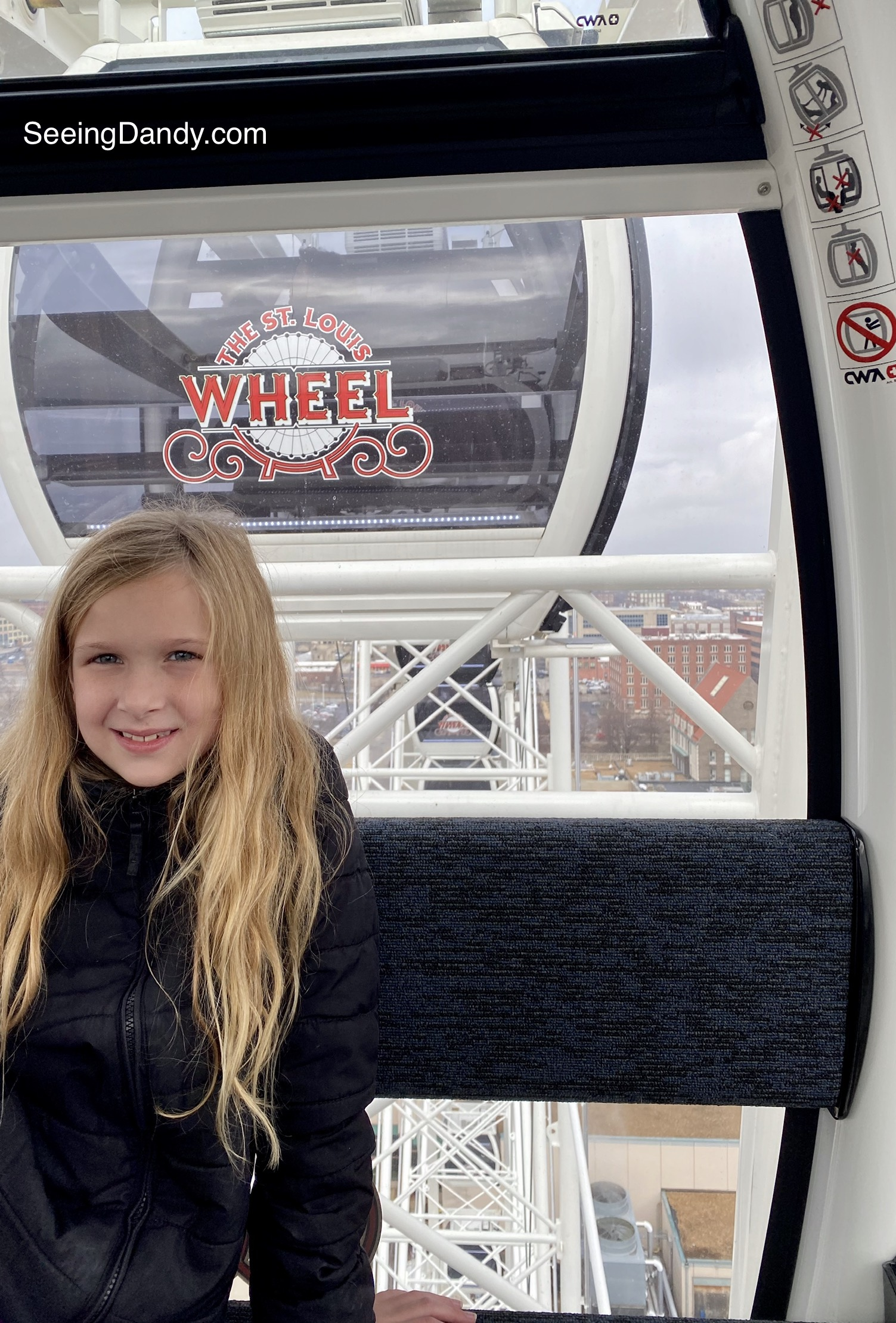 St. Louis Wheel, gondola, downtown saint louis, union station
