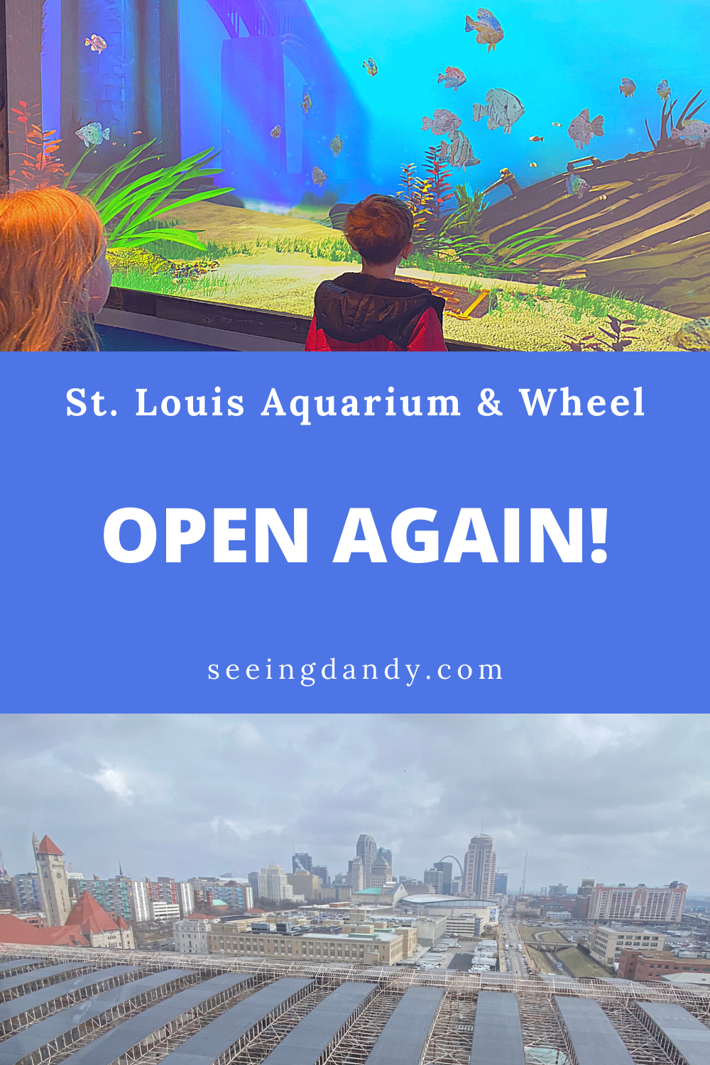 St. Louis Aquarium at Union Station and St. Louis Wheel reopening
