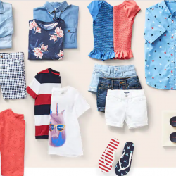 family outfits, americana outfits, old navy style, summer fashion, summer style, patriotic styles