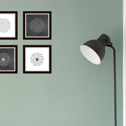 dandelion wall art, home decor, free printables