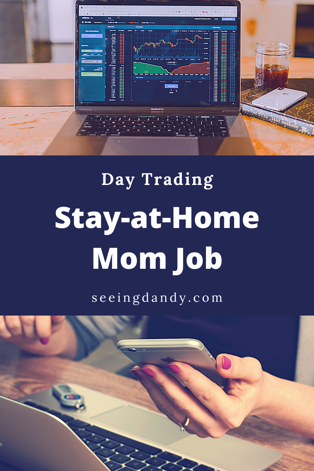 Stay at home day trading job, stock market