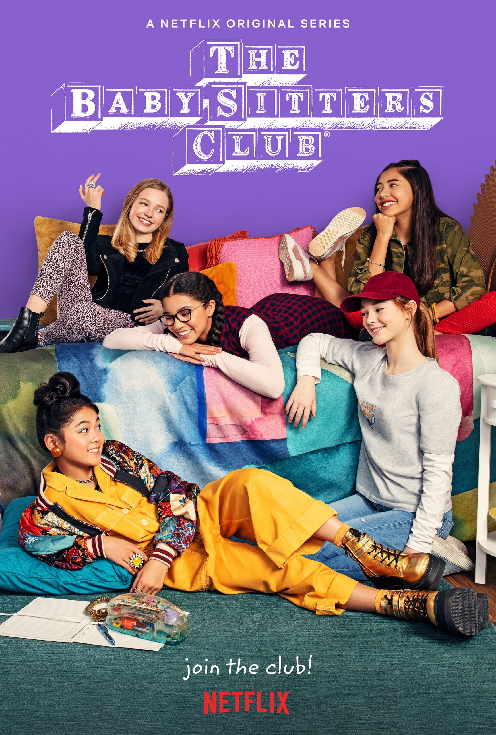 Netflix Baby-Sitters Club 2020, tv shows, 80's books, netflix original series, ann m martin