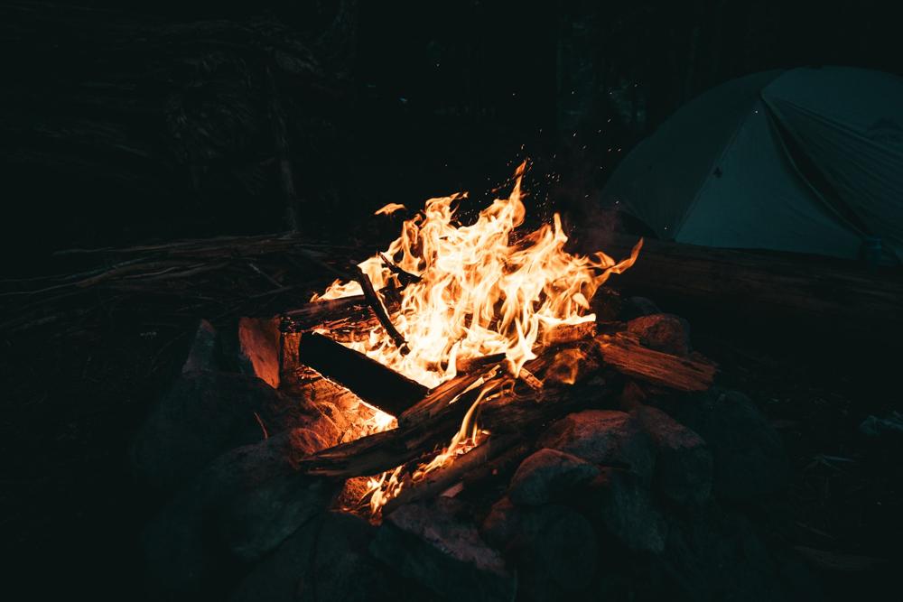 campfire, summer fun, campfire story