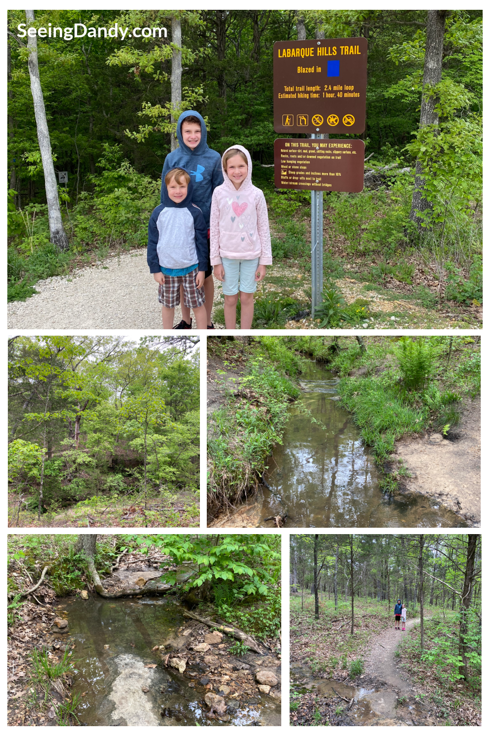 Labarque Hills Trail, family hike, st. louis family, hiking adventures