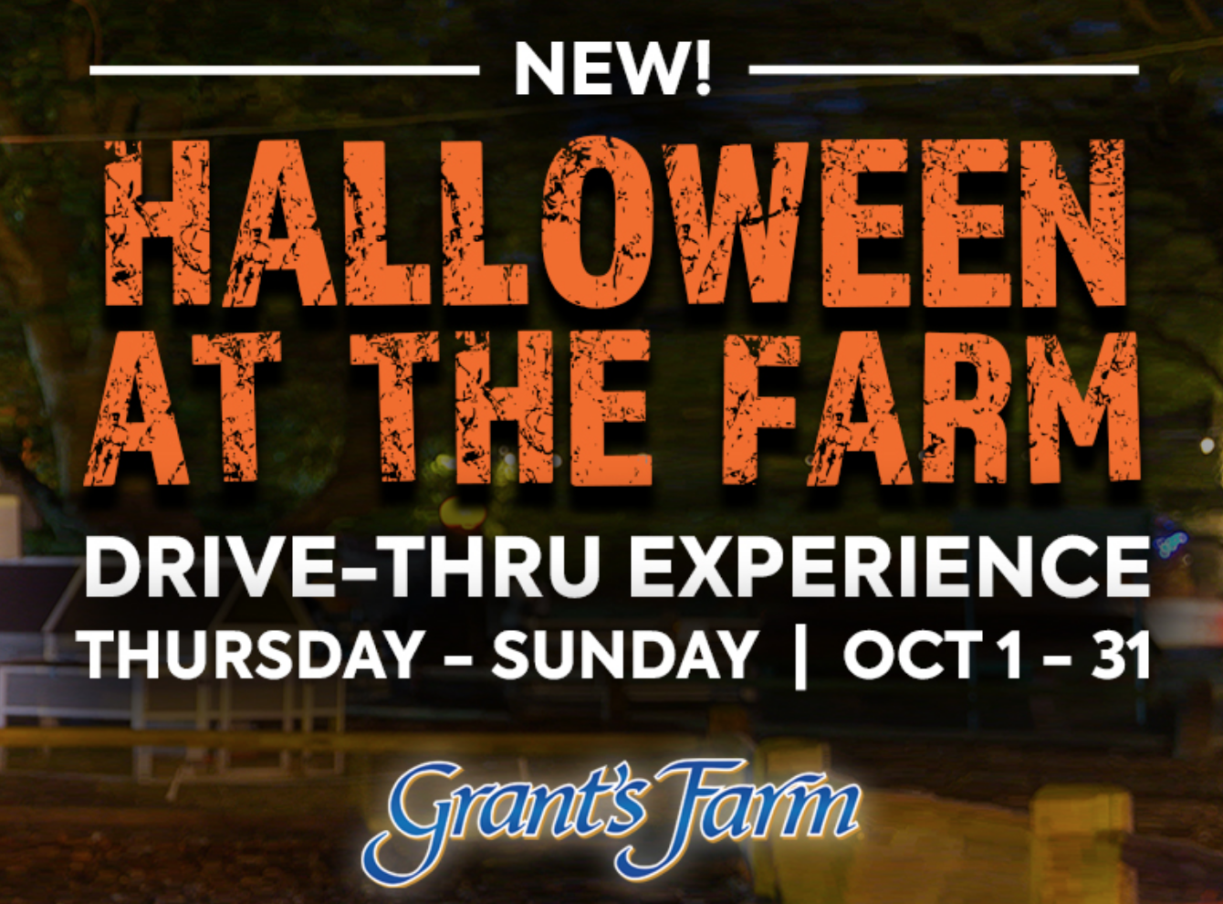 Grants Farm Halloween Drive Thru Experience, family fun, st louis