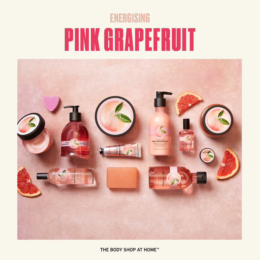 Pink Grapefruit Body Butter, body wash, soap