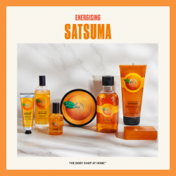 The Body Shop At Home, Satsuma Collection