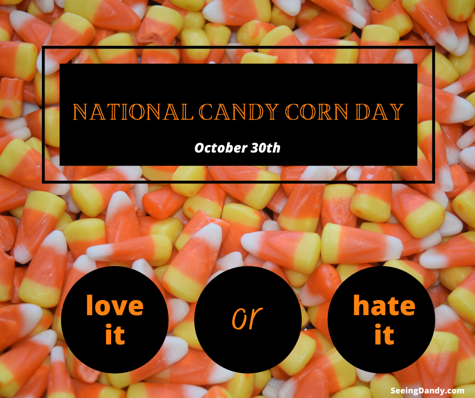 national candy corn day, october 30th, halloween candy, fall candy