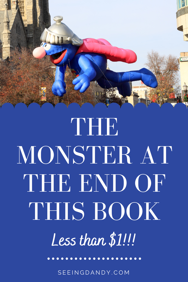 the monster at the end of this book, flying grover, grover parade float, grover balloon, macys thanksgiving day parade grover, super grover