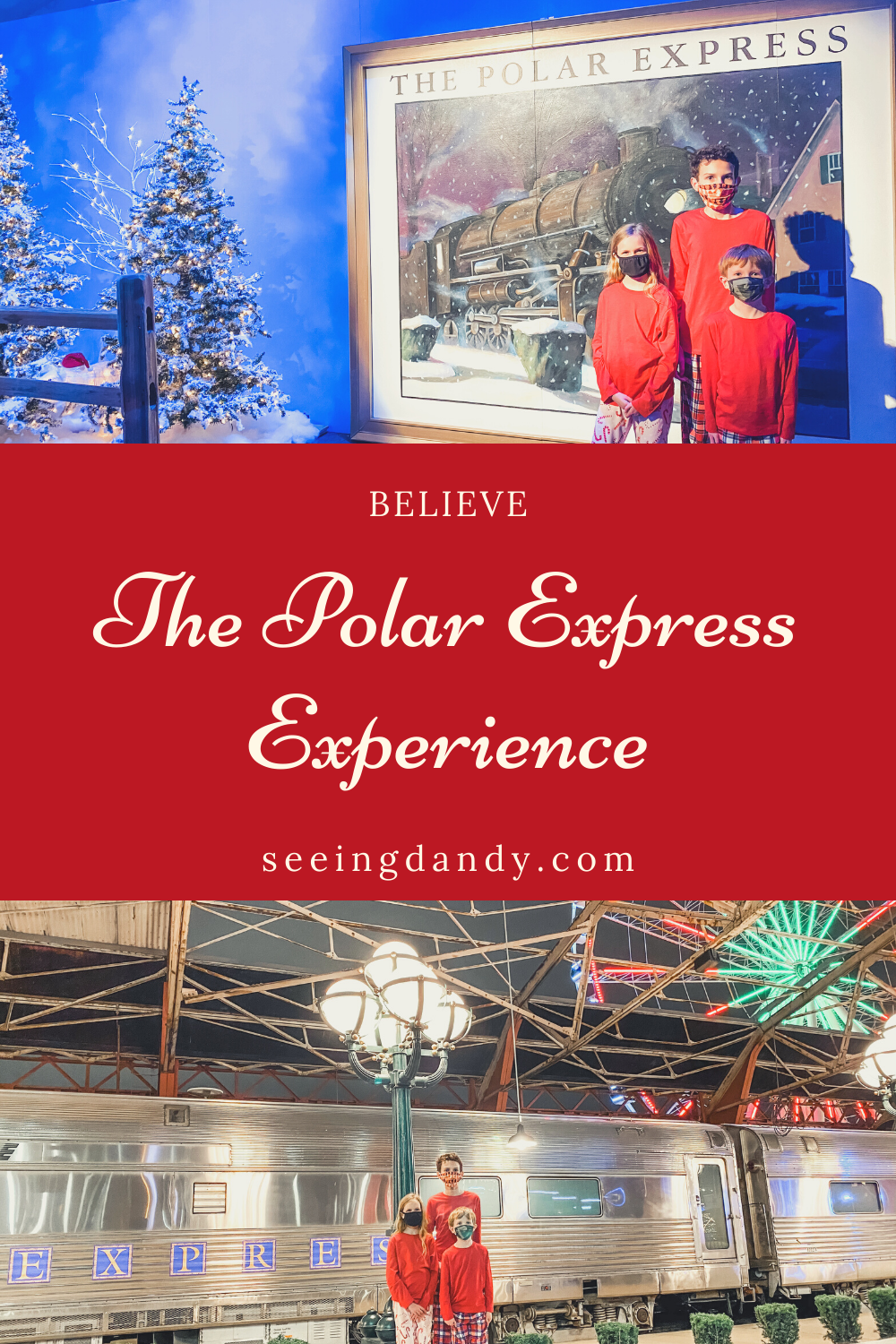 believe polar express experience, st louis union station, st louis family fun, polar express train, holiday fun, family christmas tradition, polar express, st louis wheel, union station train yard