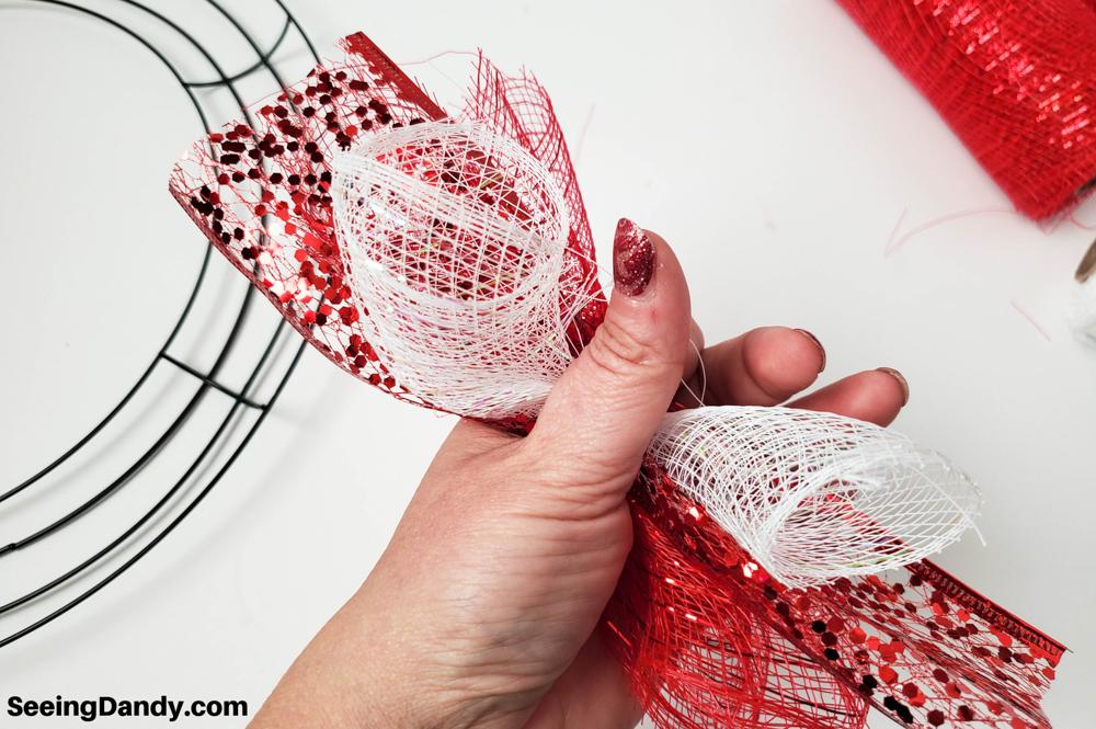 sparkle mesh craft, dollar tree crafts