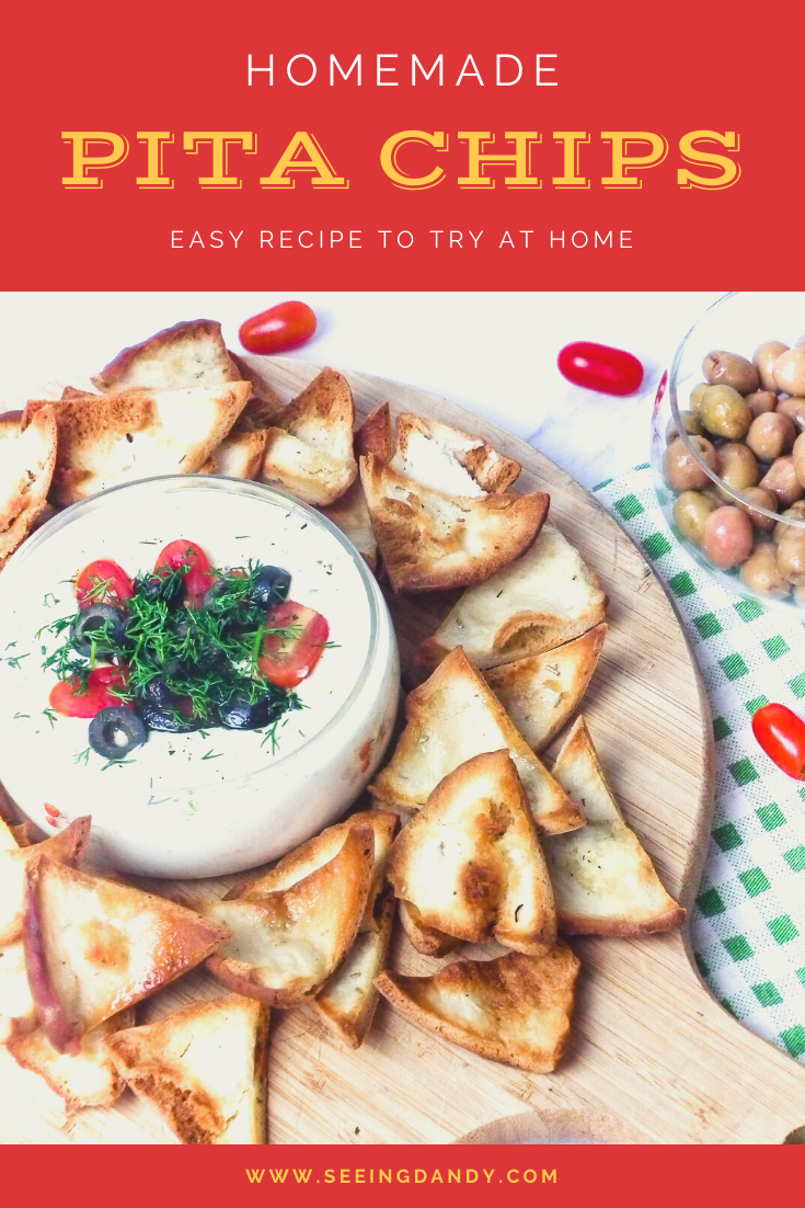 homemade pita chips recipe, cheese fondue dip, black olives, grape tomatoes, easy recipes, party recipes, new years eve, football party