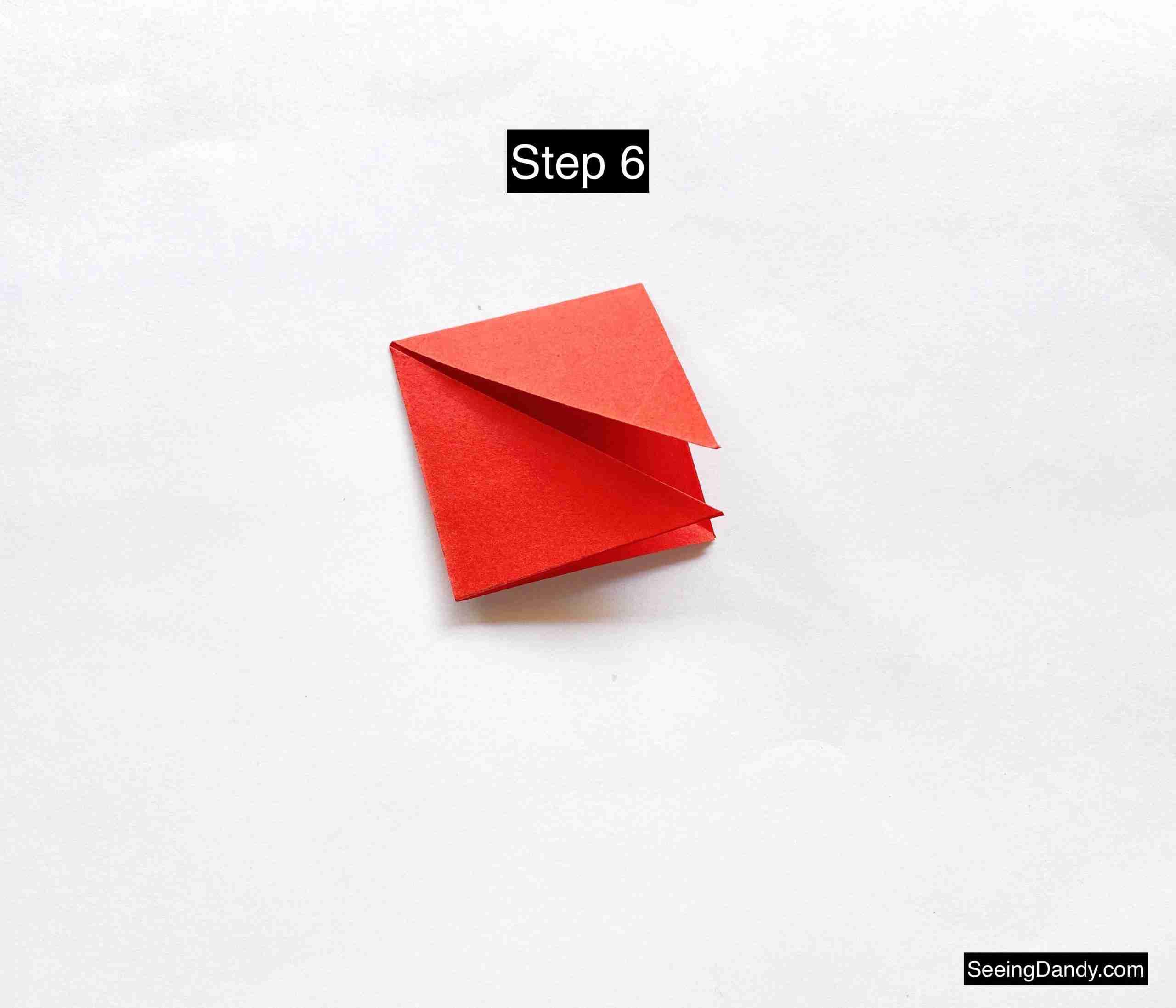valentine origami, japanese paper folding, paper crafts, valentine card, valentine ideas, easy crafts, diy crafting, school party ideas, valentine party, red paper