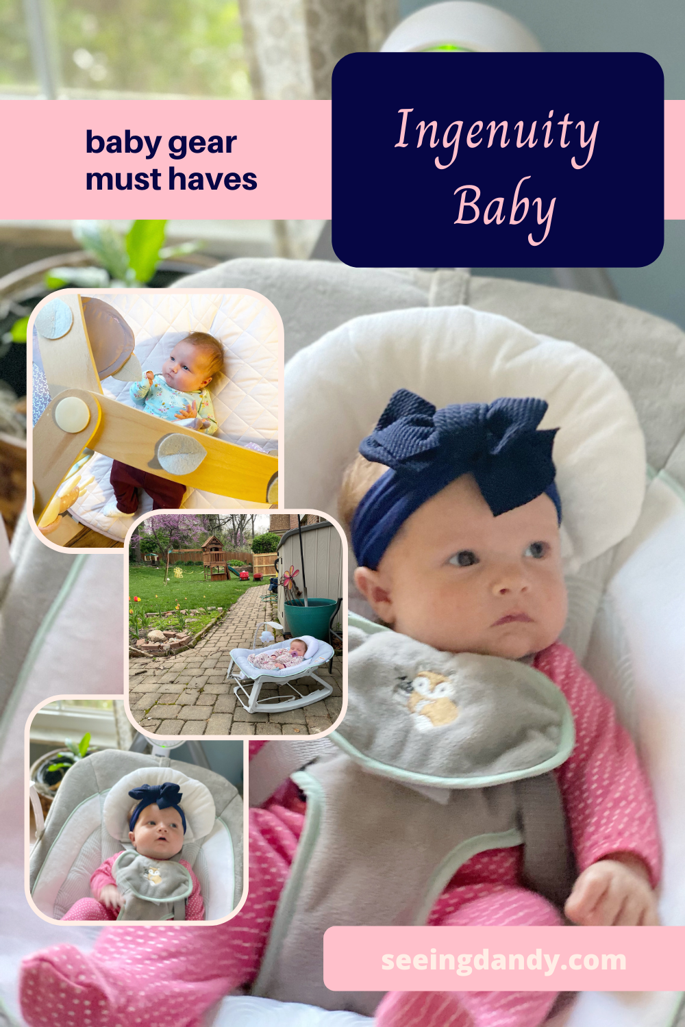 ingenuity baby, baby gear, cozy spot activity gym, baby shower gifts, anyway sway swing, keep cozy bouncer,