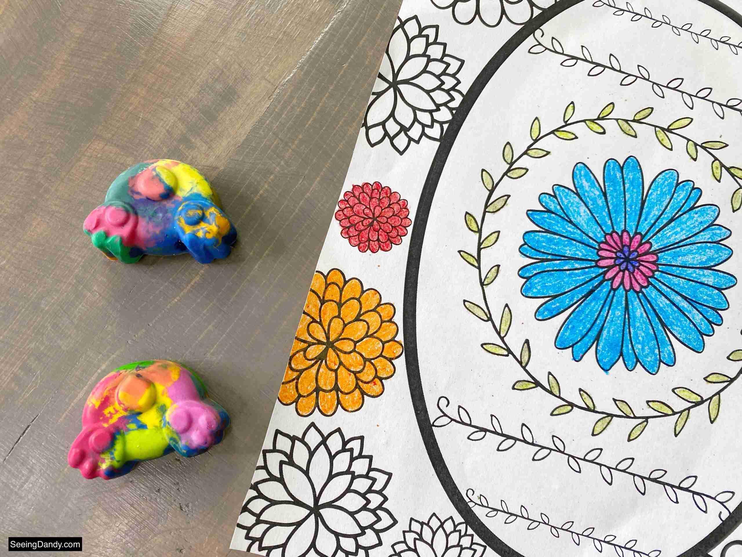 diy easter bunny crayons, easter crafts, melting crayons, faberge egg coloring page, free printable coloring sheet, easter coloring page, spring crafts, kids crafts, easter basket