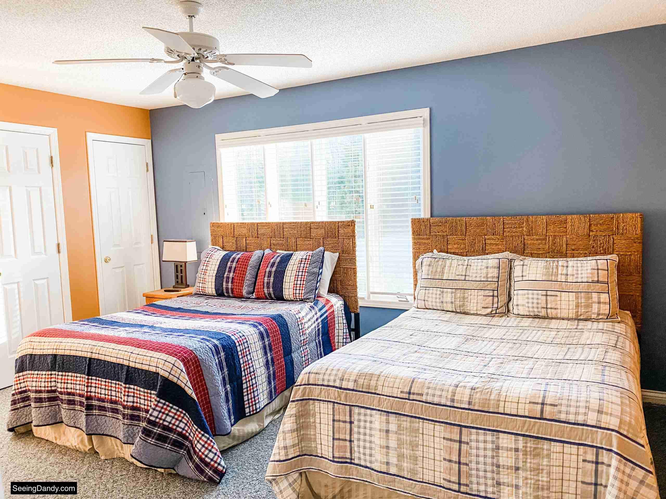 green turtle bay condo, elliebelle condo, nautical decor, nautical bedding