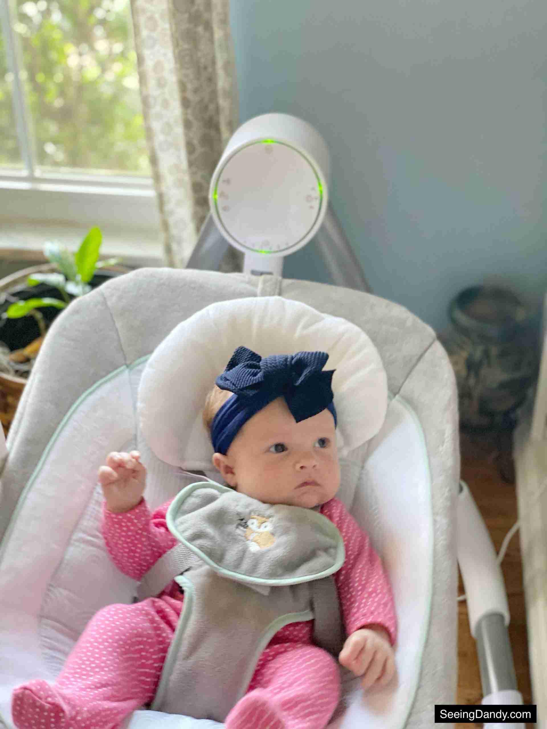 ingenuity baby swing, infant gear, baby shower gift ideas, anyway sway swing