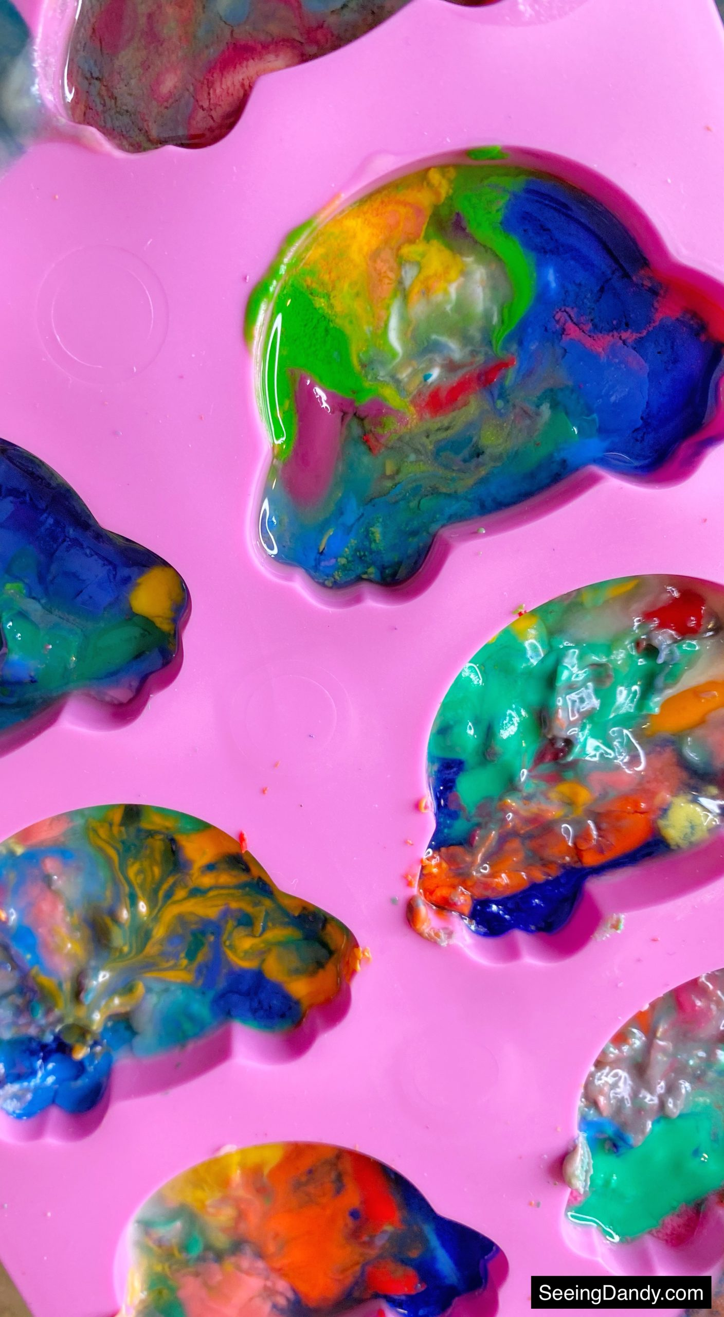 diy kids crafts, dollar tree rabbit bottom silicone mold, family activities