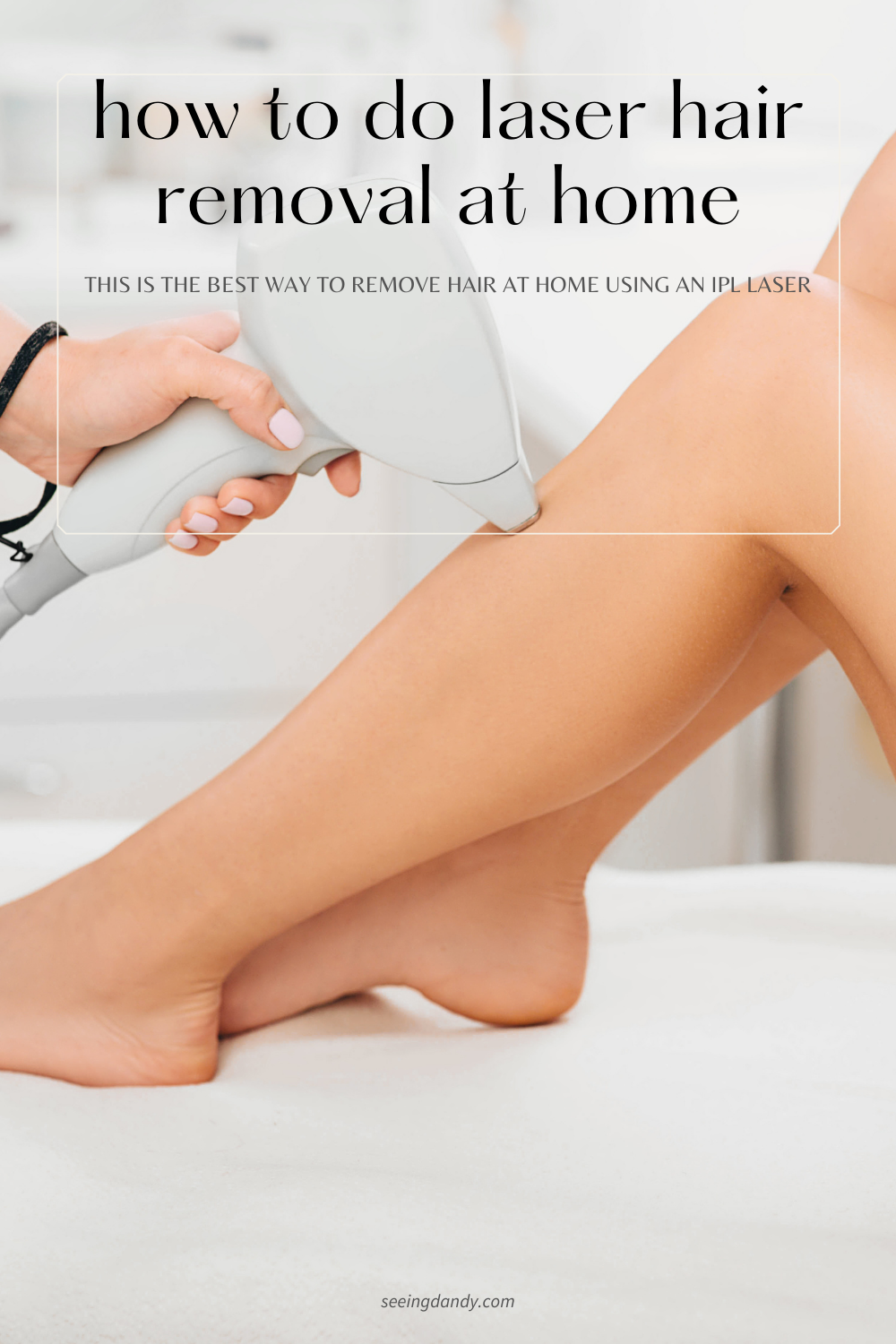 IPL laser Hair Removal Device, diy beauty products