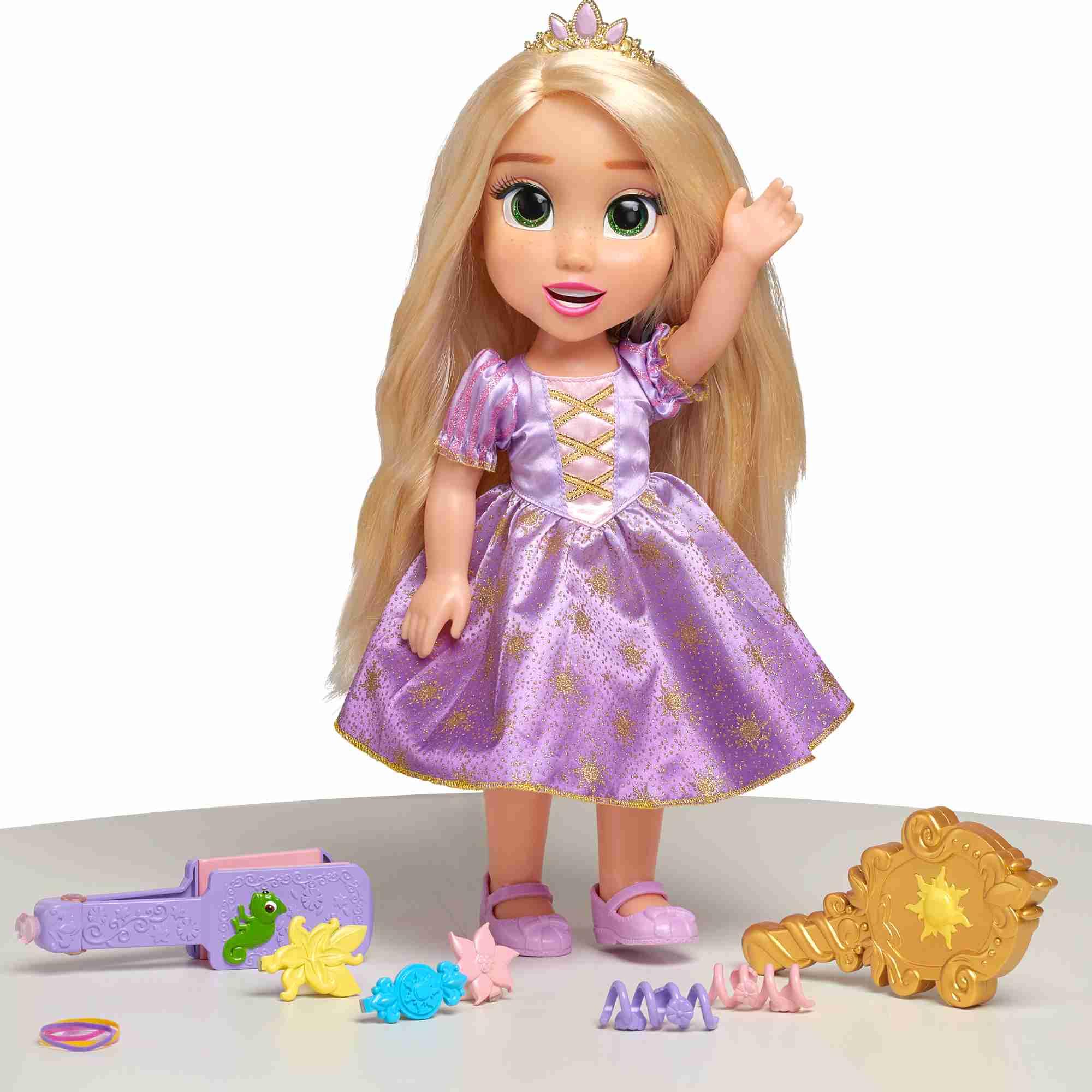 Magic in Motion Hair Glow Rapunzel, disney princess, sweet suite at home