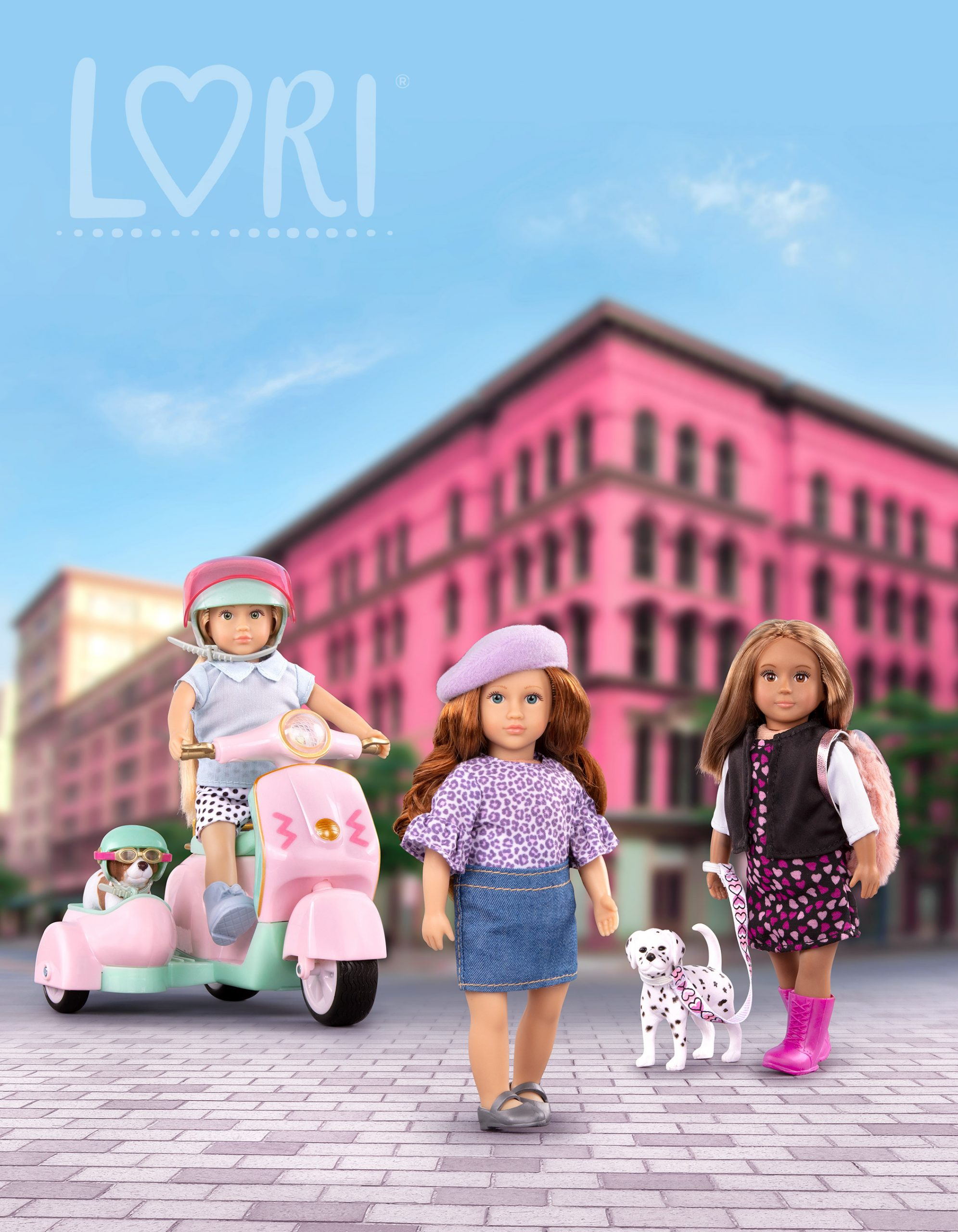 Lori Dolls, kids doll gift ideas, holiday gift guide, sweet suite at home