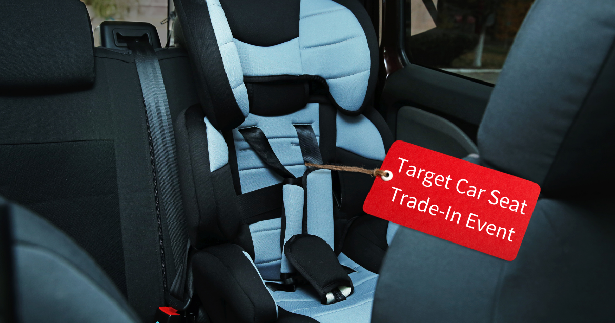 target car seat trade in event, st louis target stores, recycle car seats, baby gear car seats