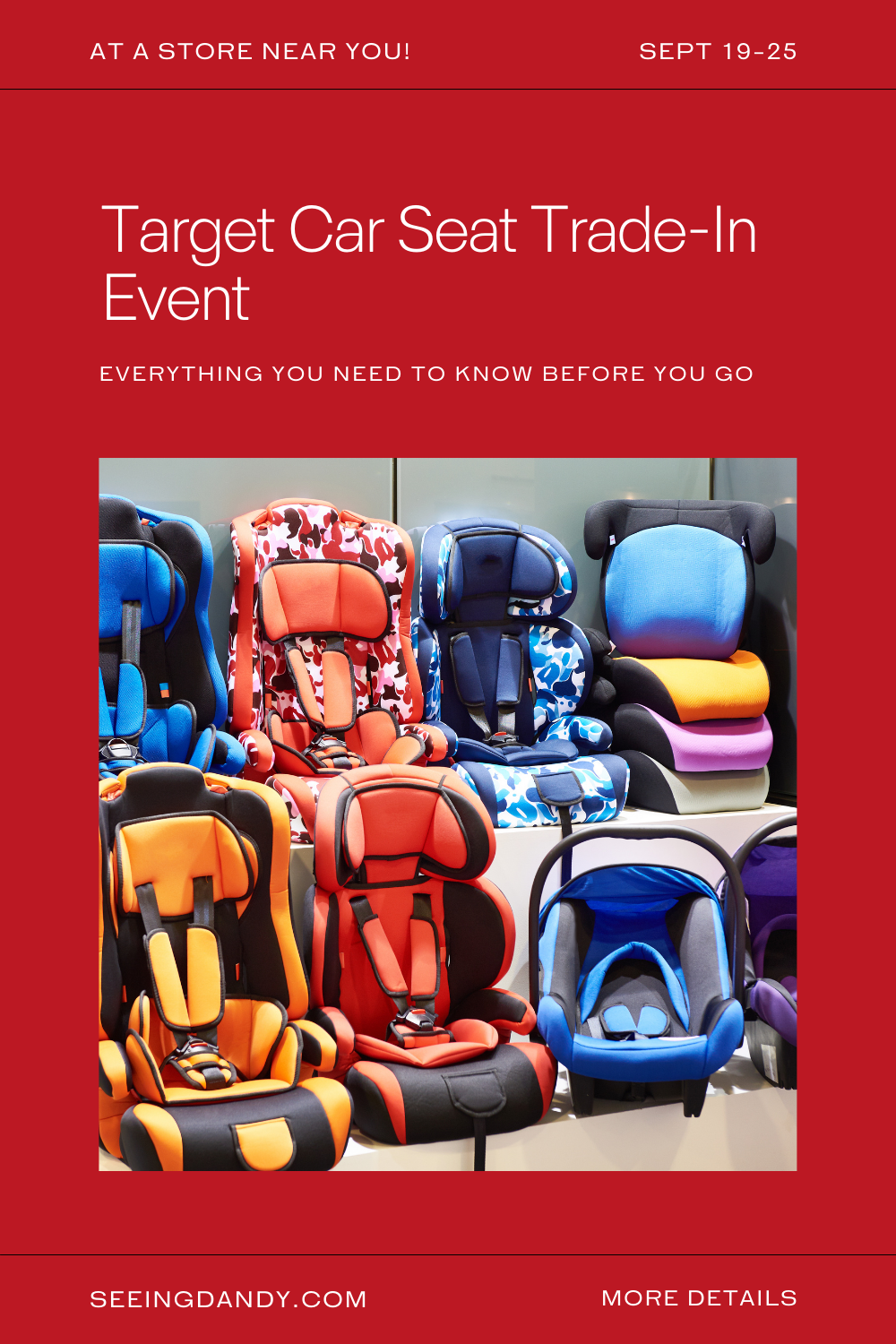 target car seat trade in event, st louis target stores, recycle car seats, baby gear car seats, target coupon