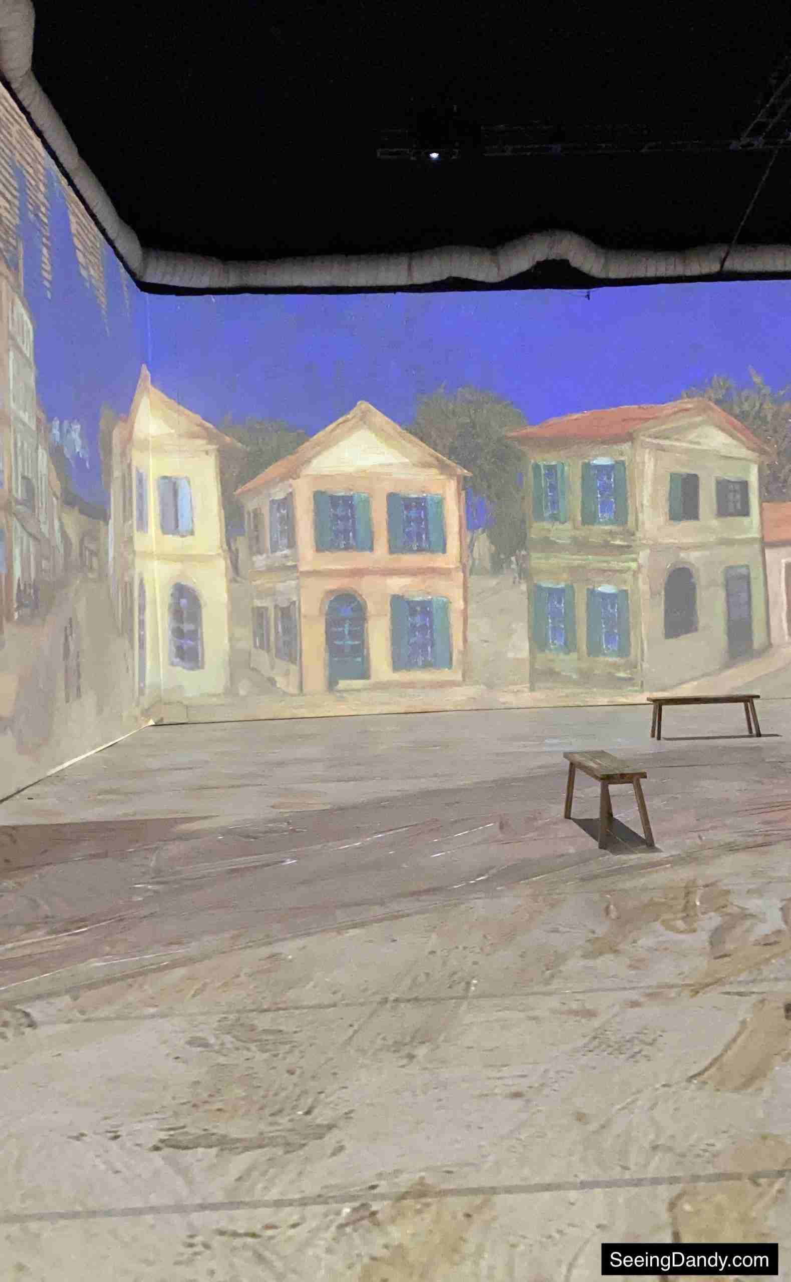 Beyond Van Gogh Village painting